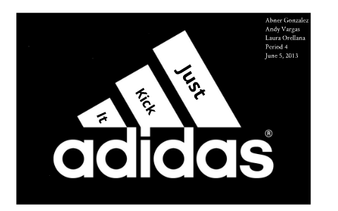 Adidas Advertisement Project. by Andy Vargas