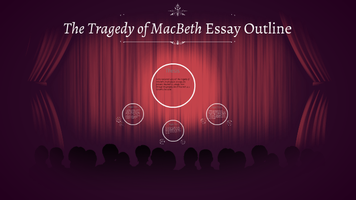 Macbeth Essay Outline By Keeley Thompson On Prezi  Help With Assignments Online also Writing A High School Essay  English Literature Essay Topics