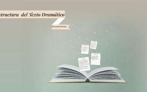 Estructura Externa Del Texto Dramatico By Orlando Hinojosa
