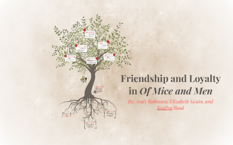 Friendship And Loyalty In Of Mice And Men By Kaitlyn Read On Prezi  Best Custom Writing Company also My First Day Of High School Essay  Do My Home Work