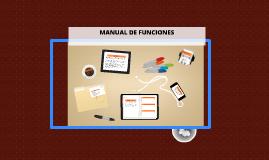 MANUAL DE FUNCIONES by Maria manrique