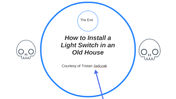 How to Install a Light Switch in an Old House by tristan esterhous Old House Wiring Light Switch Diagram on