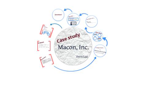 macon inc case study solution