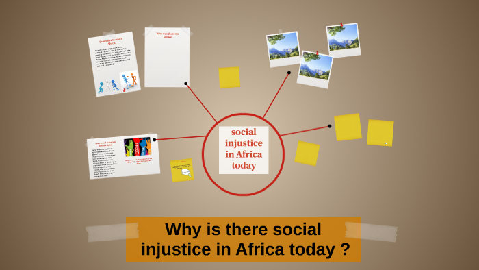 social injustice in africa