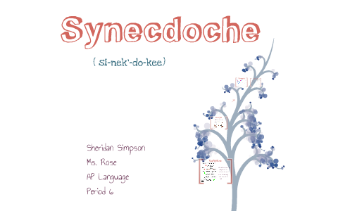 synecdoche by s simpson on prezi