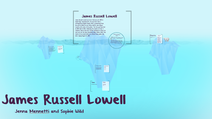 the first snowfall james russell lowell summary