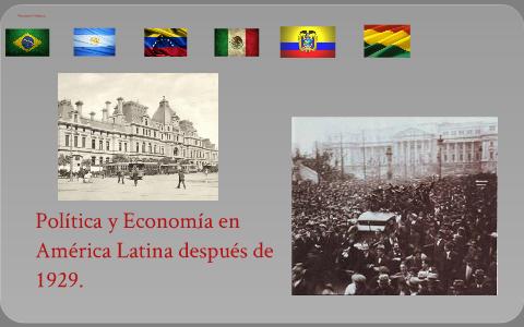 Política y Economía en América Latina después de 1929 by ...