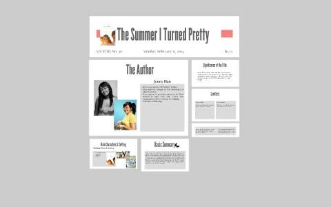 The Summer I Turned Pretty by Kailee Alberda on Prezi