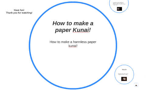How to make a Paper Kunai Knife - (Naruto Kunai) | EASY | TUTORIAL ... | 300x480
