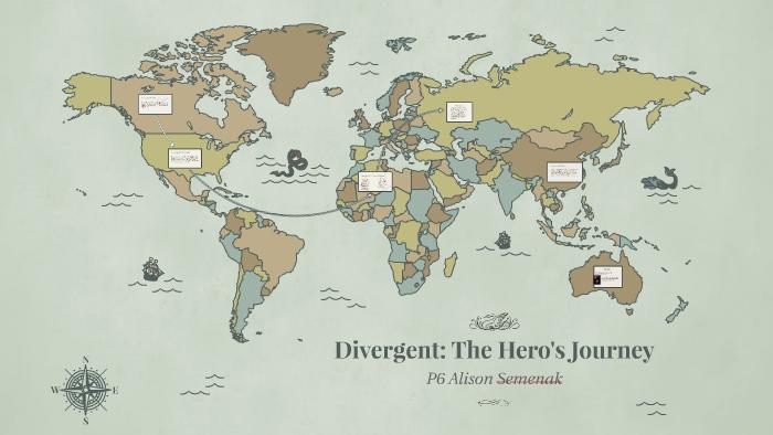 Divergent Map by alison ak on Prezi on