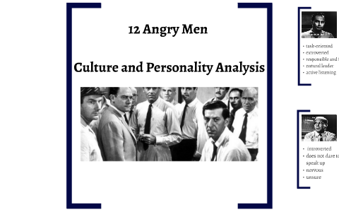12 angry men personalities