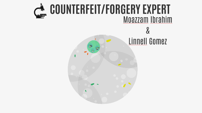 Counterfeit Forgery Expert By Moazzam Ibrahim