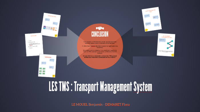 LES TMS : Transport Management System by Ben Stiglitz on Prezi