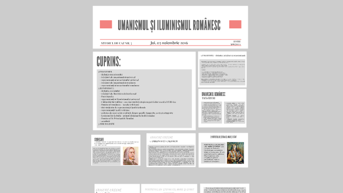 Curentele literare/culturale in secolele al XVII-lea si al