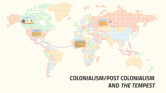 colonialism in the tempest
