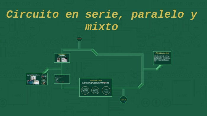 Circuito Paralelo Y En Serie : Circuito en serie paralelo y mixto by andrea rosales on prezi