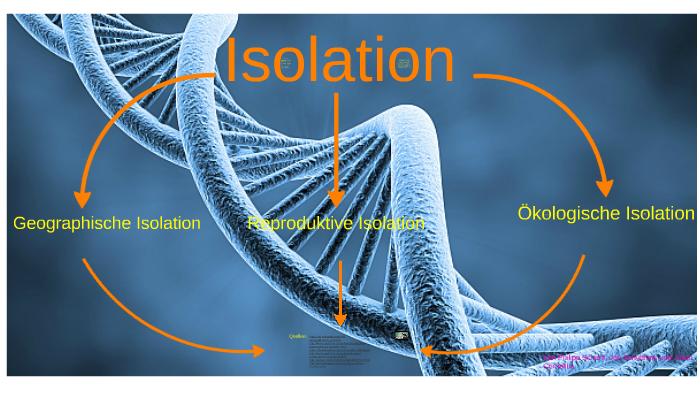 Isolation Biologie By Philipp Scharff