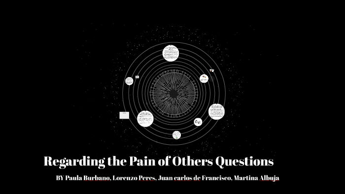 Regarding Pain Of Others >> Regarding The Pain Of Others Questions By Paula Burbano On Prezi