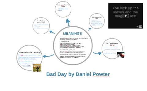 Bad Day By Daniel Powter By Falalou Sandy