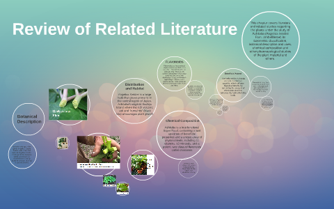 Review Of Related Literature By On Prezi