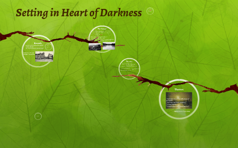 what is the setting of heart of darkness