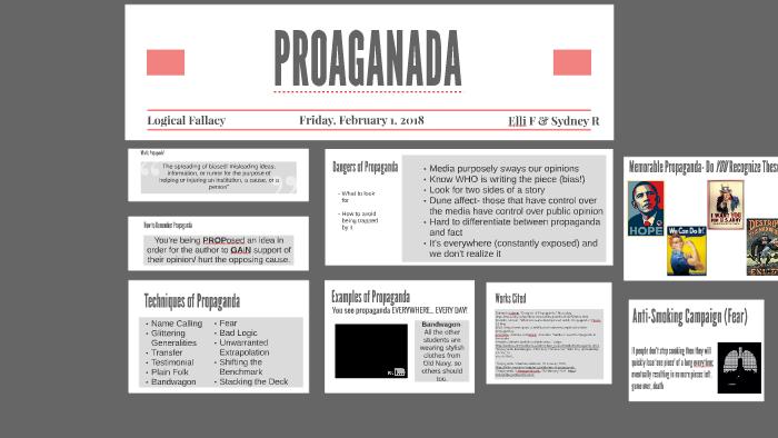Logical Fallacy Propaganda By Sydney Randleman On Prezi