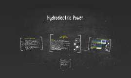 Copy of Hydroelectric Power