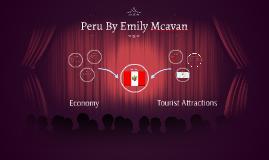 Peru By Emily Mcavan