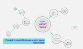 el pensamiento organizacional estratégico