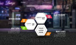 Cópia de Urban Infographic - Free Prezi Template