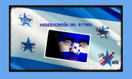 Copy of Modernización del Estado Historia de Honduras