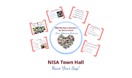 NISA Town Hall: Have your say!