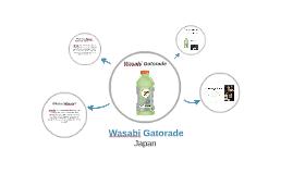 Wasabi Gatorade