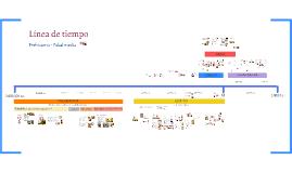 Copy of Línea de Tiempo Prehistoria- Edad media