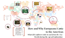 How and Why Europeans Came