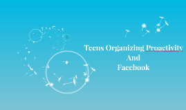 Teens Organizing Proactivity