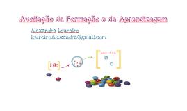 Avaliação da Formação e da Aprendizagem (pdf)