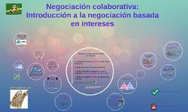 Copy of Negociación colaborativa: