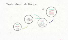 Tratamiento de Textos