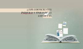 LOS COEFICIENTES PSIQUICO Y FISICO DE LA CONDUCTA