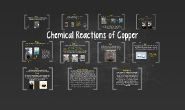 Chemical Reactions of Copper