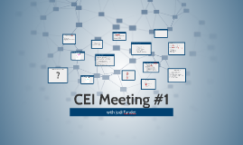 CEI Meeting #1