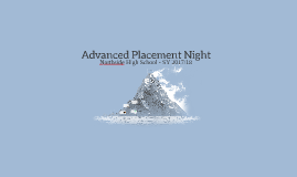 Advanced Placement Night