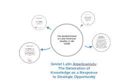 Copy of Soviet Latin Americanists: The Generation of Knowledge as a
