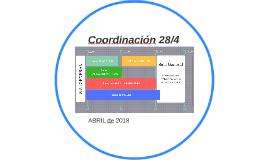 Coordinación 28/4
