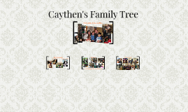 Caythen Pool's Family Tree (Dunn 4th grade)