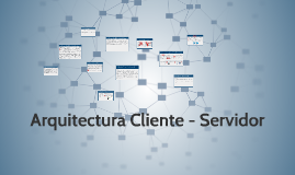 Copy of Arquitectura Cliente - Servidor