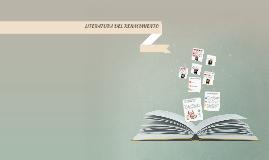 LITERATURA DEL RENACIMIENTO