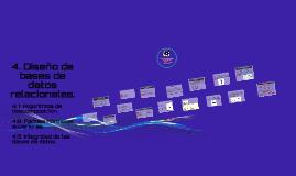 Copy of 4. Diseño de bases de datos relacionales.