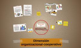 Dimensión organizacional cooperativo